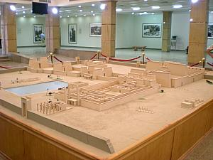 Miniature model of Karnak's Temple Complex