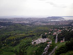 View of Split from Klis Fortress.