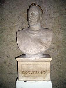 Sculpture of Diocletian
