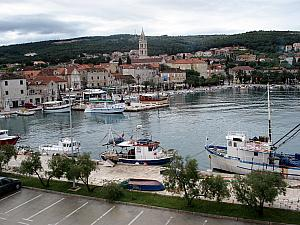 The town of Supetar on Brac