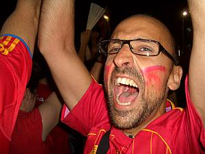 Spain wins the 2010 World Cup!