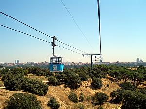 We took a ride on a Teleferico!