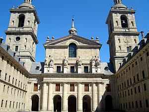 The basilca at El Real Monasterio del El Escorial