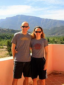 Jay, Kelly and the Atlas Mountains.