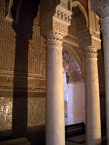 One of the mausoleums at the Saadian tombs.