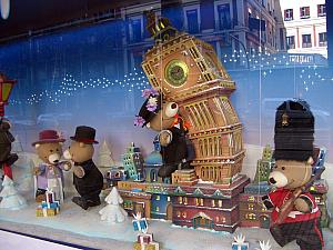 El Corte Inglés Christmas Display: London, England