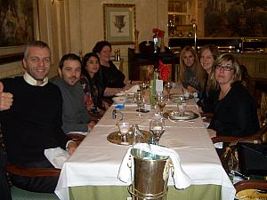 Kelly's work colleagues at the Westin Palace