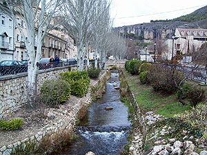 The river in Cuenca