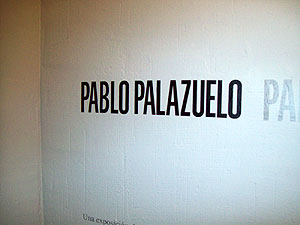 art exhibit by Pablo Palazuel in Cuenca's Abstract Art Museum (that relates to a project I've been working on at work)