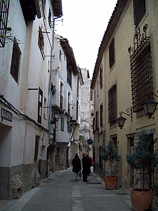 Cuenca had lots of small winding streets.
