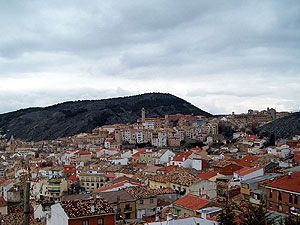 view of Cuenca from Museo Ars Natura