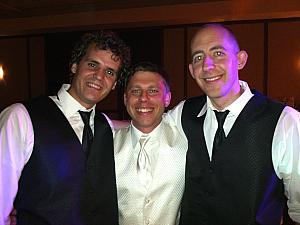Adam and Jay with the groom!