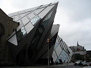 Toronto's Royal Ontario Museum: it was both a museum of world culture (eastern, egyptian, greek, roman, native american artifacts), Canadian historical museum, and natural history museum featuring dinosaurs!