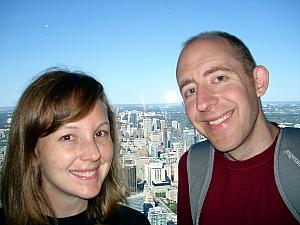 Atop the CN Tower