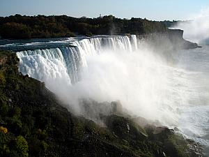 The best view of the American Falls from New York.