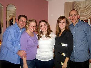 Brothers and sisters: Chad, Jenny, Julie, Kelly and Jay