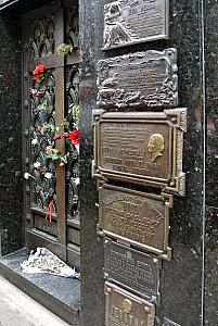 Buenos Aires - Eva Peron's resting place, with the rest of her family.