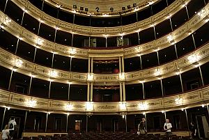 Montevideo - Inside the Teatro Solis
