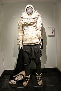 Montevideo - Teatro Solis - art gallery displaying possible theater costumes in 100 years.
