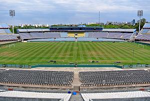Montevideo, Estadio Centenario -- look for Jay!