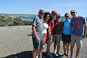 Punta Tombo - family photo