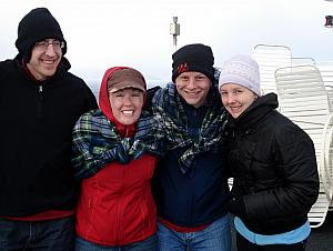 Bundled up at Cape Horn