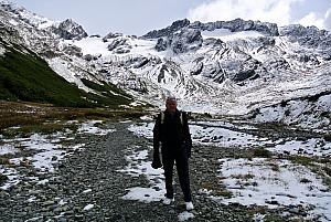 Ushuaia - hiking in the Martial Glacier valley