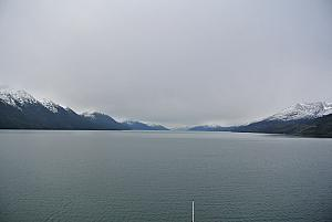 Sailing in the Magellan Strait.