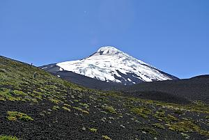 Puerto Montt, Chile - hiking on Osorno Volcano