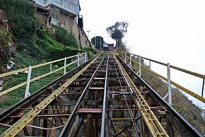 Valparaiso, Chile - on the funicular
