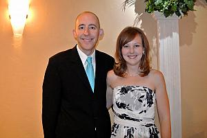 Jay and Kelly after the wedding