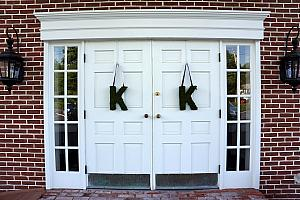 K and K for Kevin and Kyleen