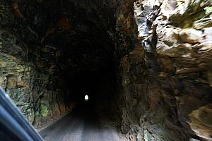 Driving through the Nada Tunnel