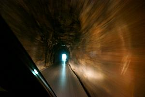 Inside the Nada Tunnel!
