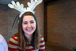 Julie the reindeer