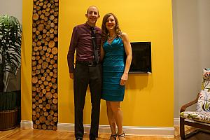 Jay and Kelly heading out for P&G's holiday party