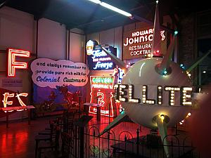 P&G holiday party at the American Sign Museum -- fun place!