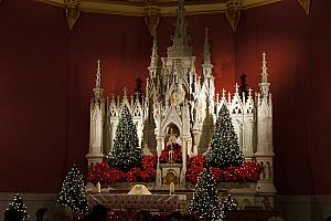 Christmas Eve mass at St. Lawrence Church