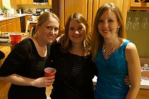 Katie, Allison and Kelly