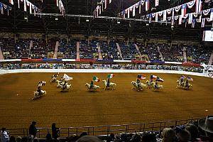 Fort Worth Rodeo and Stock Show - the six flags that have governed Texas