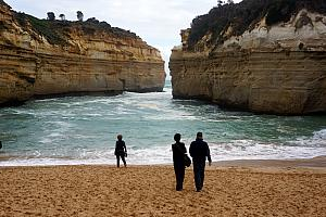 The Loch Ard Gorge - a very cool beach just a few minutes from the Twelve Apostles, that is much less trafficked. For every 10 buses at the Twelve Apostles, this place only had one or two!