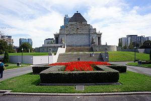 Melbourne's Shrine of Remembrance, a memorial to Australians who served in World War 1.