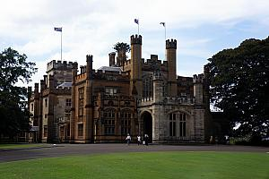 Sydney's Government House - the official residence of the New South Wales governor. Not too shabby!