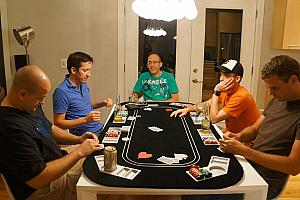 And now it's serious -- poker time!