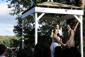 Greg and Virginia's wedding -- congratulations!