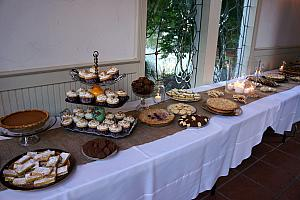 The dessert table -- amazing!