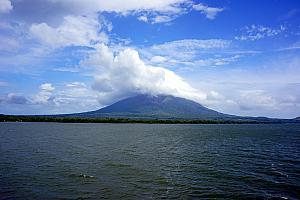 Sunday, December 15: Now, we're on to Ometepe island in the middle of Lake Nicaragua. The island is actually formed by two volcanos - Maderas and Concepcion. We stayed on Maderas, which is the inactive volcano.
