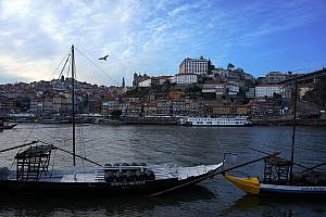 Looking back to Porto from Vila Nova de Gaia