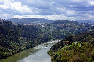 March 27: Douro River seen from the Alpendurada Monastery