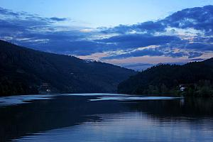 Dusk along the Douro River